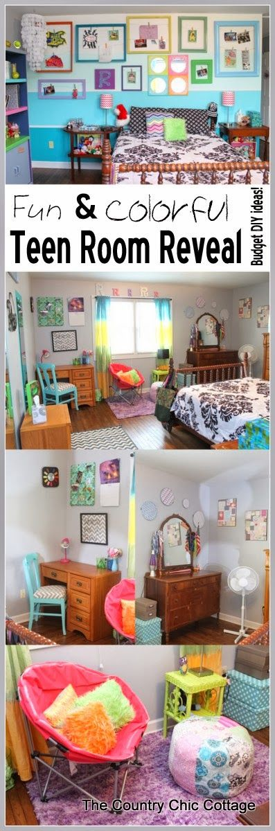 Teen rooms great rooms and diy and crafts on pinterest Fun teen rooms