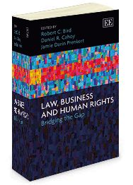 Law, Business and Human Rights: Bridging the gap - edited by Robert C. Bird, Daniel R. Cahoy, and Jamie Darin Prenkert - September 2014