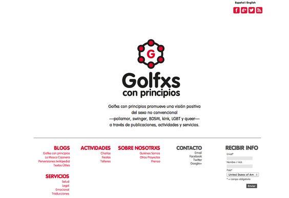 Golfxs con principios  Identidad