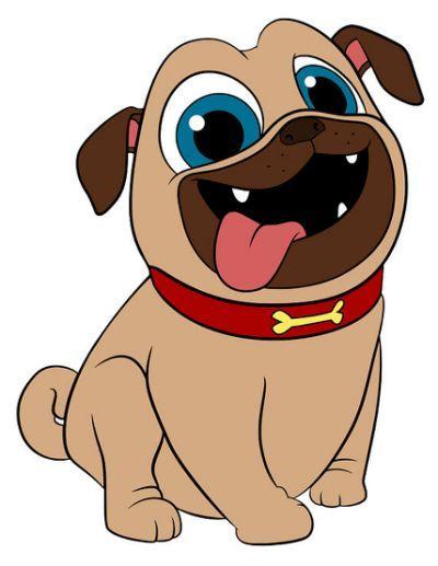 Puppy Dog Pals Bingo And Rolly Cumpleanos De Perro Fiestas Para Perros Perros En Caricatura