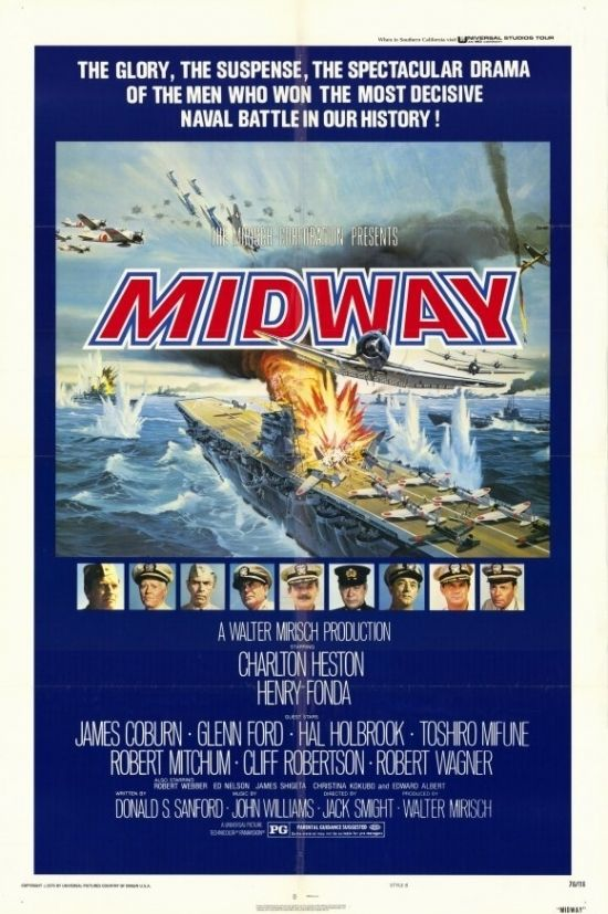 Midway Movie Poster 11 X 17 In 2021 Midway Movie War Movies Henry Fonda
