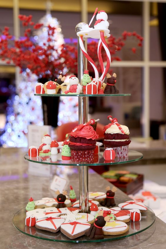 Variety of Christmas Goodies served at Stirred, Level 07.