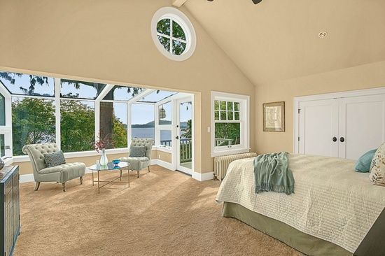 master with a sunroom