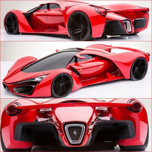 Ferrari F80 L Hypercar De 2020 Concept Ferrari F80 Sports Cars