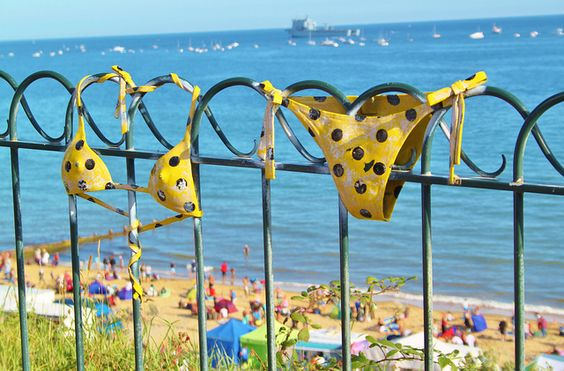 Great day to wear my YellowPolkaDotBikini.  Now, I wonder where I left it?