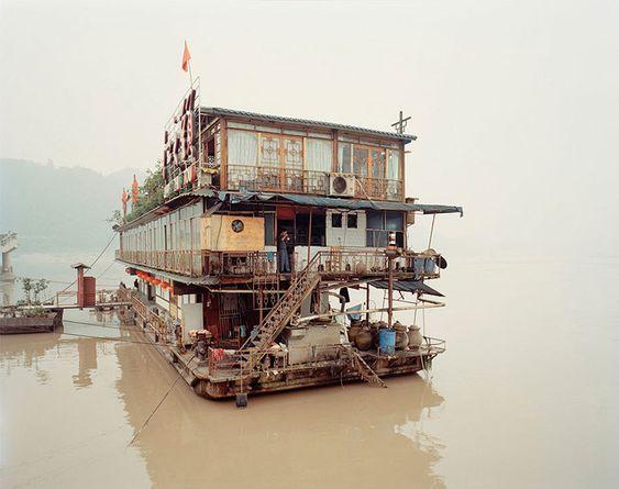 "Nadav Kander | ""Yangtze, The Long River - Yubin III, Sichuan Province"""