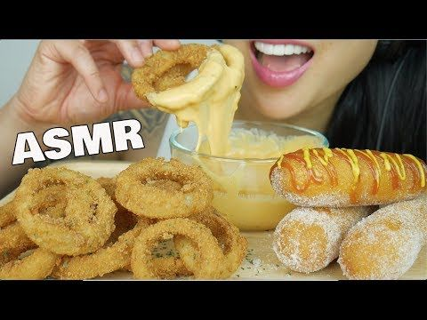 Asmr Onion Rings Corndogs With Cheese Sauce Extreme Crunchy Eating Sounds No Talking Sas Asmr Youtube Onion Rings Corn Dogs Crunchy Please dont forget to wear headphones for more enjoyable experience. asmr onion rings corndogs with cheese