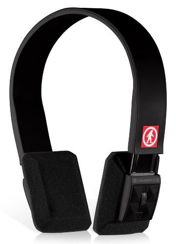 Sleek and wireless!! Outdoor Tech OT1100 DJ Slims Wireless Bluetooth Headphones (Black)