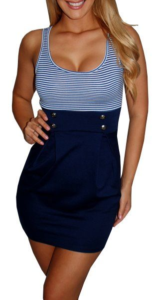Cute nautical dress from Great Glam