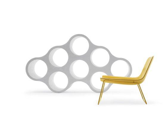 Immagini di oggetti di design rotondi | Cloud, Ronan & Erwan Bouroullec, Cappellini, 2005 | #designbest