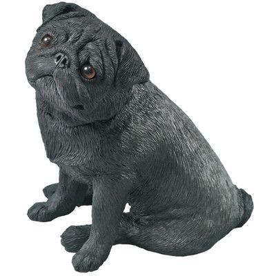 Sandicast Mid Size Pug Sculpture & Reviews | Wayfair