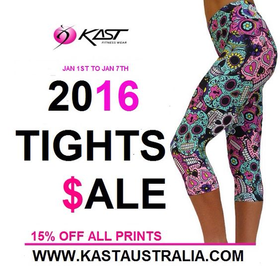 Don't miss our 2016 printed tights sale - 15% OFF all our prints - www.kastaustralia.com #brazilianprintedtights #besttightsever #kastaustralia #kasfitwear #printedleggings #printedtights #pilateswear #yogawear #printedcapris #fitnesswear #sale #printedtightssale