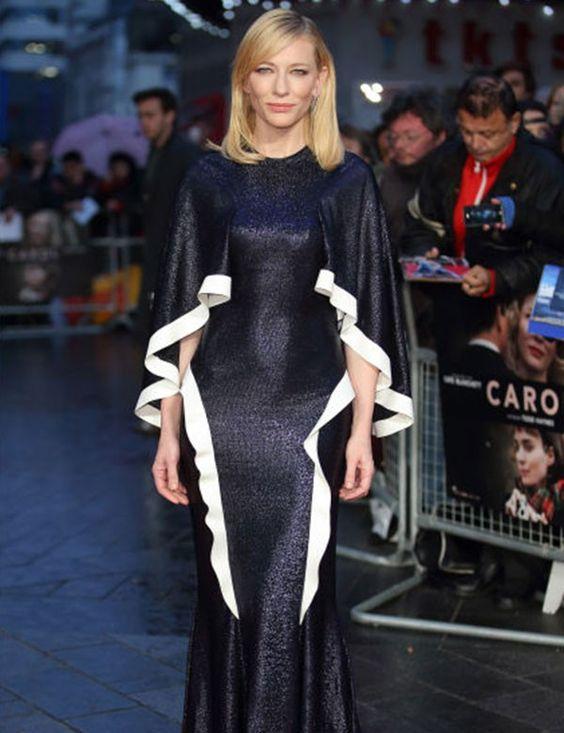 Los mejores looks de red carpet los luce Cate Blanchett