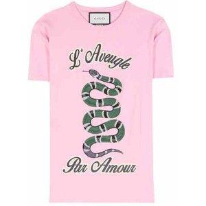 Gucci Cotton T-Shirt With Appliqué