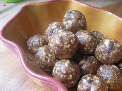 "Lemon ""Larabar"" Balls-healthy, easy and delish!"