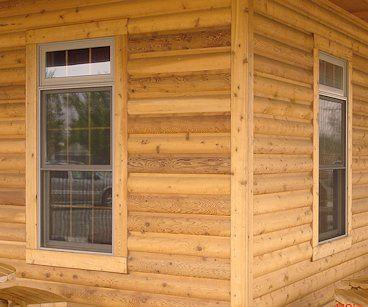 Log Siding Logs And Cedar Siding On Pinterest