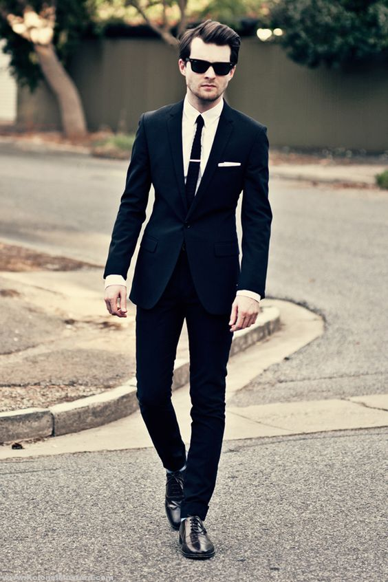 20 Best Black Suit For Men | Suits, Classic and Tailored suits
