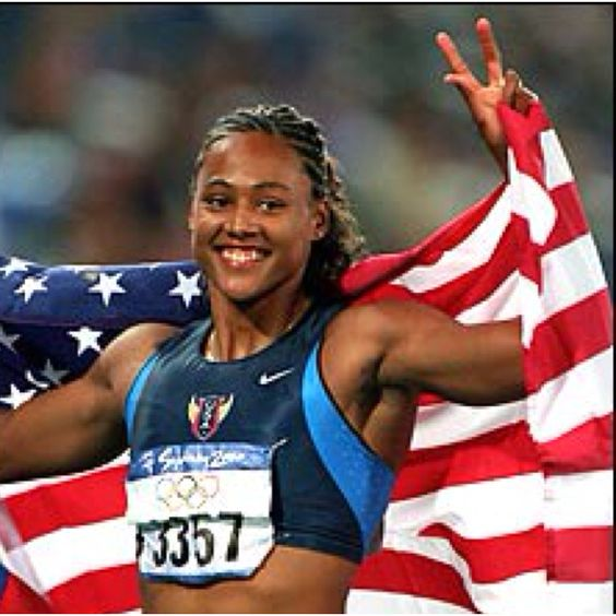 Olympic track star Marion Jones was labeled the fastest ...