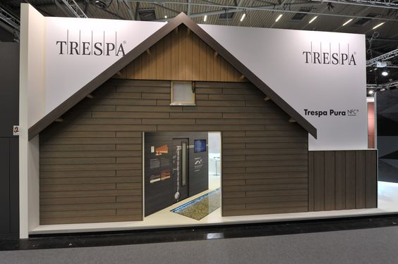 The Trespa Pura NFC house — at Messe München.