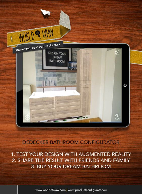9 best Bathroom Configurator images on Pinterest | Augmented reality,  Bathrooms and Confirmation