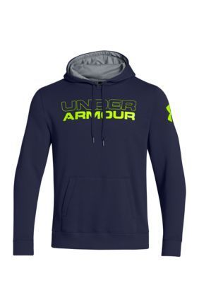 Under Armour  Mens Undisputed Cotton Hoodie