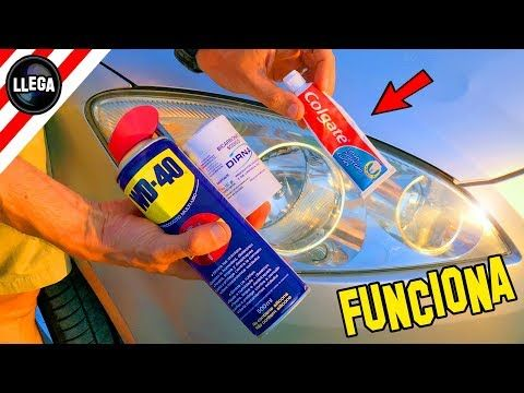 How To Clean And Polish Your Plastic Headlights With Colgate Youtube How To Clean Headlights Headlight Repair Car Repair Diy