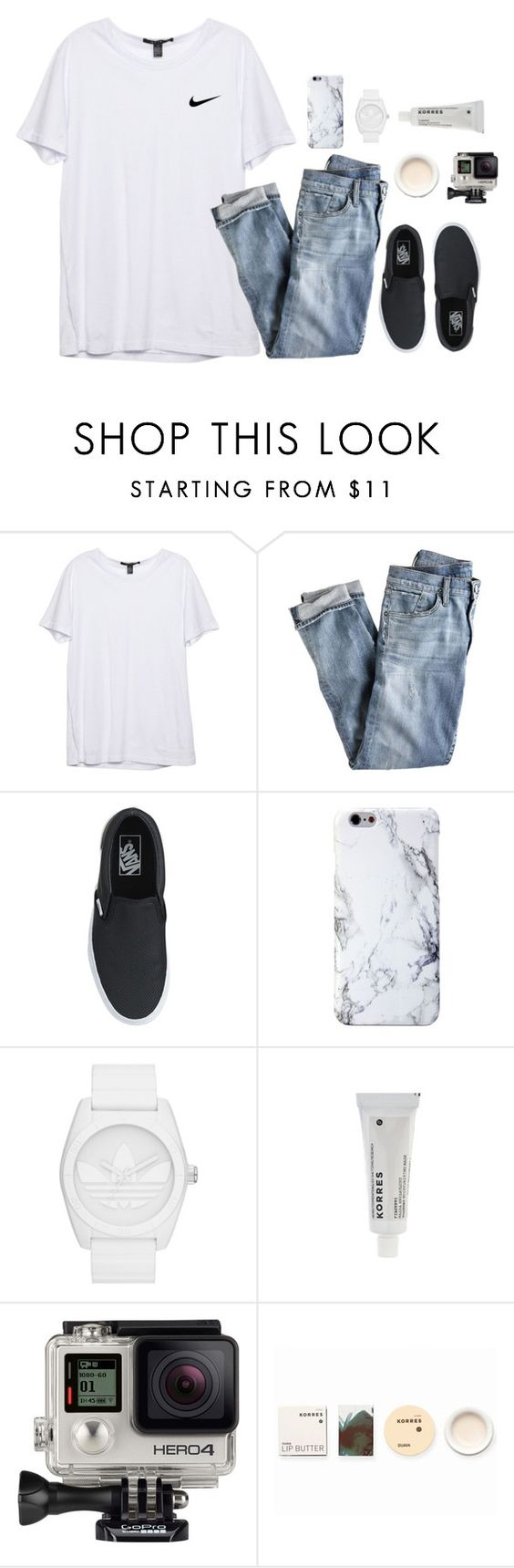"""""""sight seeing korea DAY2"""" by soprepp ❤ liked on Polyvore featuring J.Crew, adidas Originals, Korres and GoPro"""
