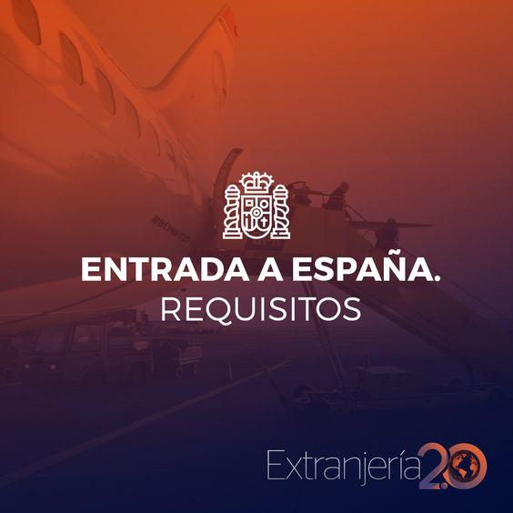 Entrada A España Requisitos Http Blgs Co 0p5zov