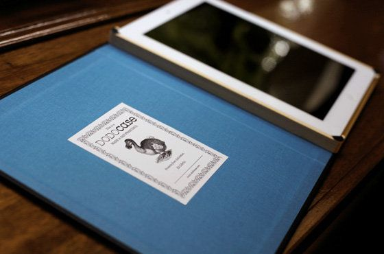 want new iPad case. by DodoCase
