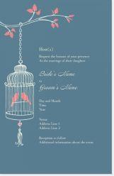 bird bird cage Invitations & Announcements