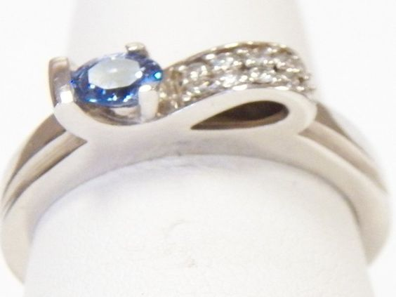 Beautiful Sapphire Ring, made by me :D