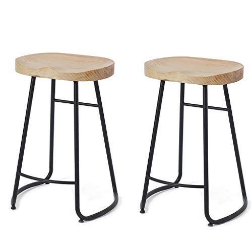 Wenfei Shop Metal Bar Stools Indoor Outdoor Industrial Backless Counter Height Stools For Home Br With Images Metal Bar Stools Counter Height Stools Breakfast Bar Kitchen