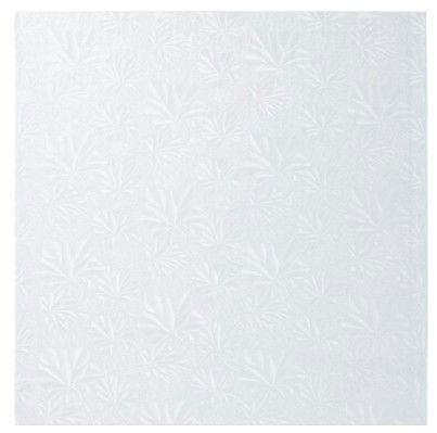 """10"""" Square ~ White Foil Cake Board ~ 1/2"""" Thick ~ NEW ~ LOOK!!! by Quantumchaos Media. $5.99. Save 50%!"""