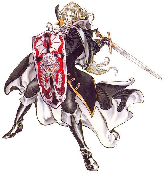 Alucard Sword & Shield - Castlevania: Symphony of the Night