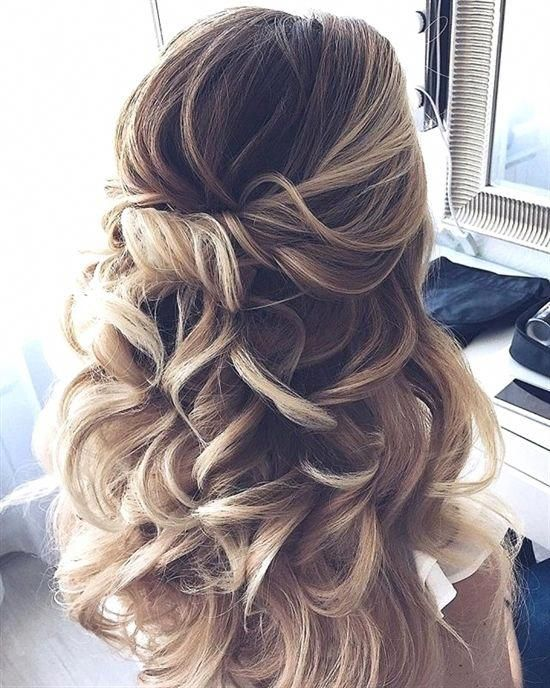 Prom Hairstyles For Short Hair Half Up Half Down hairstyles