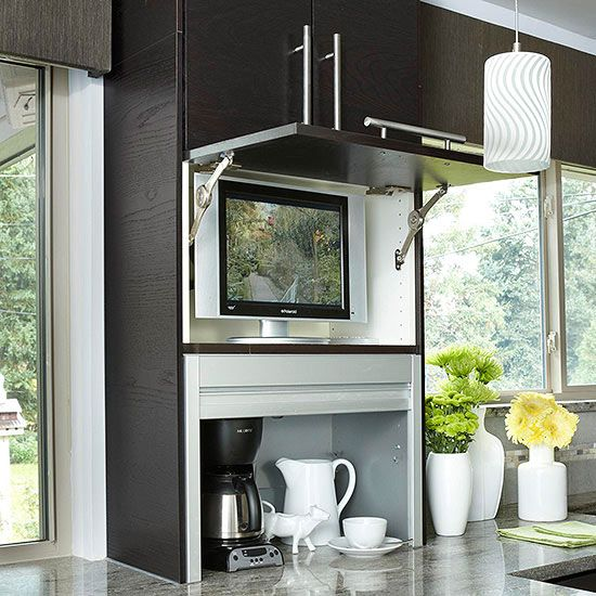 Kitchen Appliance Storage Ideas To Be Traditional And