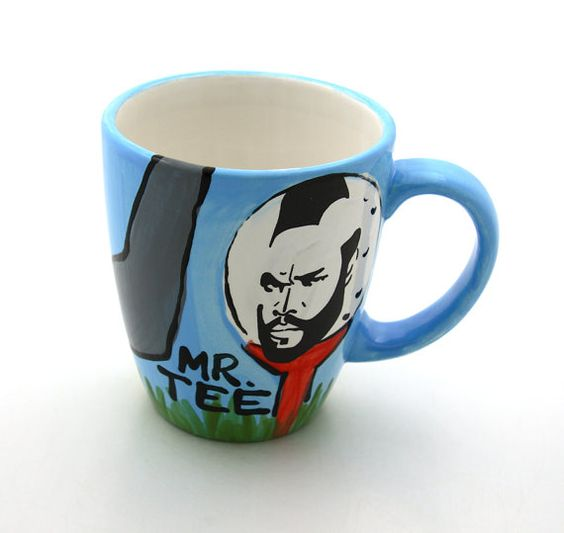 Mr T Tee Golf Mug Limited Edition for Fathers Day by LennyMud, $16.00
