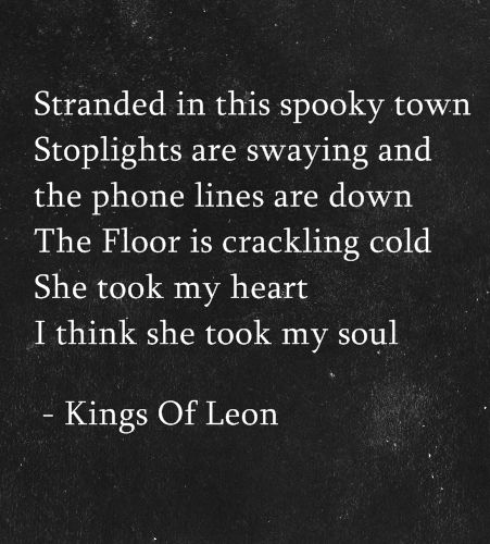 Kings Of Leon - Closer LYRICS - YouTube