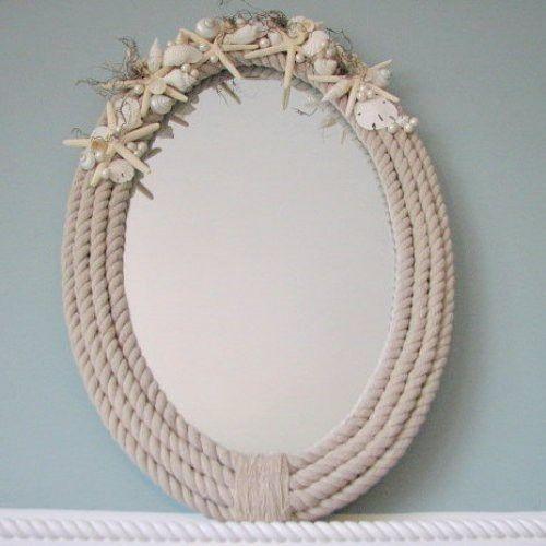Diy nautical rope mirror maybe i should move this to for Where to buy nautical rope for crafts