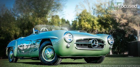"""Mercedes Benz #190SL #SLR tribute (""""Huldigung""""). Pic credit : Royce Rumsey / #BruceAdams190SL #190SLRestorations"""