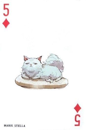 Maris Stella ~ 5 of Diamonds ~ Tokyo Ghoul trump cards