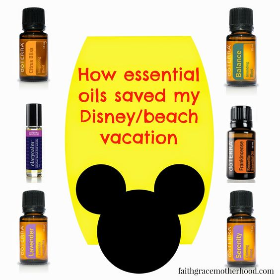 Faith, Grace and motherhood: How Essential Oils Saved My Disney/Beach Vacation