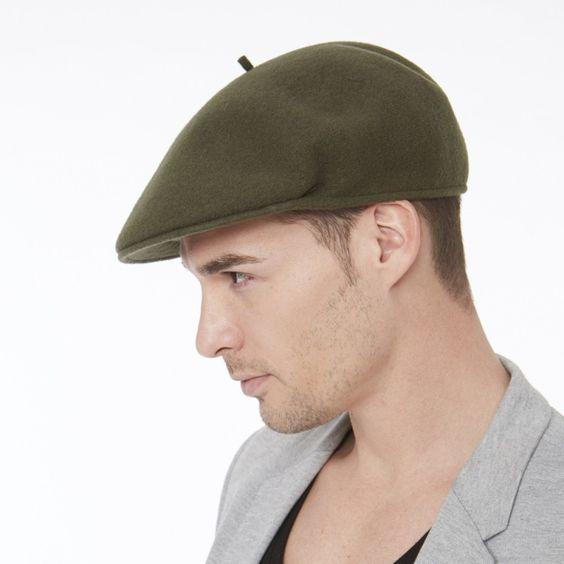 how to wear a beret men