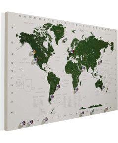 Weltkarte Reiseplaner von conleys.de