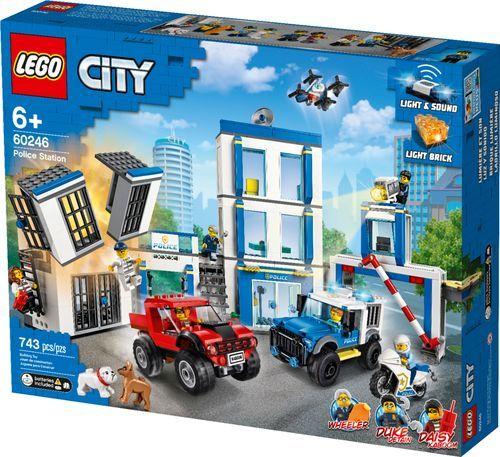 Lego City Police Station 60246 6288825 Best Buy Lego City Police Station Lego City Lego City Police