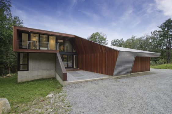 Casa no Lago Berkshire / David Jay Weiner