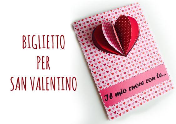Card Biglietto di San Valentino (scrapbooking) Arte per Te
