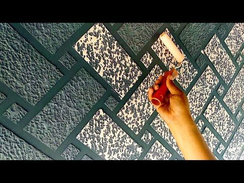 Brick Wall Painting Ideas For Interior Wall Decor Youtube Wall Texture Design Brick Interior Wall Brick Wall Decor
