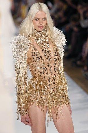 Alexandre Vauthier Couture 2012  Maison Lesage embroiderie