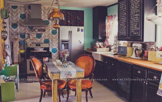 I am in love with each and every part of this home. Completely my style. Beautiful home tour post here: http://www.lifemadelovely-blog.com/2012/02/home-made-lovely-joys-home-tour.html?showComment=1330007879893#c8156378229159751130